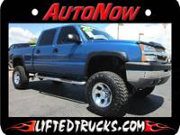 2004 CHEVY 2500HD CREW CAB LIFTED TRUCK FOR SALE.