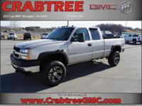 Options:  2004 Chevrolet Silverado 2500Hd Work