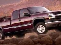 4WD. Recent Arrival! 2004 Chevrolet Silverado 2500