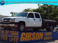 WWW.GIBSONTRUCKWORLD.COM 2004 Chevy Silverado 3500 LS