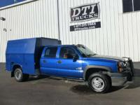 Great Running Crew Cab 4X4 Utility Truck With Only 65K