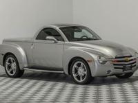 The Chevrolet SSR is a modern hot rod, a blast from the