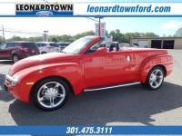 Drivers only for this sexy and agile 2004 Chevrolet SSR