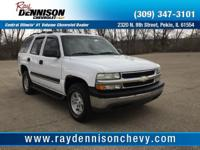 Summit White 2004 Chevrolet Tahoe LS 4WD 4-Speed