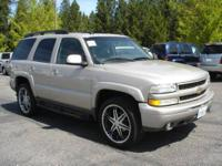 This Chevrolet Tahoe is loaded! Clean CA vehicle
