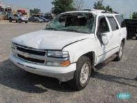 Options Included: N/AChevrolet Tahoe SW V8 5.3L -