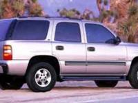 Tahoe Special Service Veh trim. Dual Zone A/C, Rear