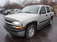 4WD. Silver Bullet! Flex Fuel! This 2004 Tahoe is for