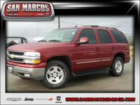 Options:  2004 Chevrolet Tahoe Lt|Red/|V8 5.3L