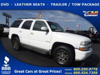 Used 2004 Chevrolet Tahoe,  DESIRABLE FEATURES:  a