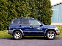 2004 ZR2 Chevrolet Tracker 4 speed automatic