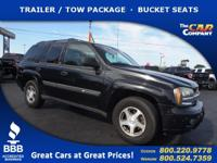 Used 2004 Chevrolet TrailBlazer,  DESIRABLE FEATURES: