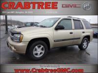 Options:  2004 Chevrolet Trailblazer Ls|Ls 4Wd 4Dr