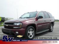 HEATED /LEATHER/ POWER SEAT in this Chevy Trailblazer