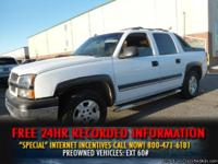 2004 Chevrolet Avalanche 1500 Crew Cab TV/DVD -