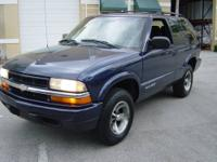 selling a 2004 Chevy Blazer LS 2 door SUV equipped with