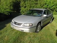 2004 CHEVY IMPALA. 143,000 miles, Blue Outside, Gray