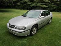 2004 CHEVY IMPALA. Silver Outside, Gray Inside, 181,000