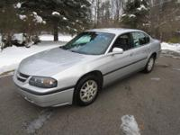 2004 CHEVY IMPALA . Silver Outside, Gray Inside,