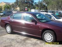 2004 CHEVY IMPALA LS 4 DR 42500 MILES, V6, AUTOMATIC,