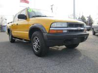 Sharp 2004 Chevy S10 Crew Cab with ZR5 Package. Compact