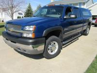 2004 Chevy Truck 2500 HD 4X4 Duramax Diesel with