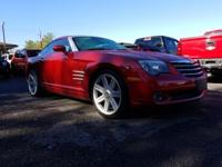 Red 2004 Chrysler Crossfire RWD 6-Speed Manual 3.2L V6