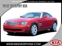 This 2004 Chrysler Crossfire Base includes a dual
