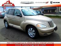 Look at this 2004 Chrysler PT Cruiser Touring. It has a