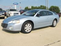 Options Included: N/A2004 Chrysler Sebring Coupe/ 2.4