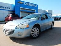 This 2004 Chrysler Sebring is offered to you for sale