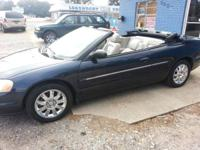 2004 Chrysler Sebring Convertible limited edition