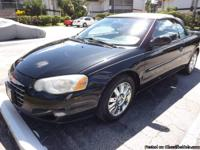 This is a real nice Chrysler Sebring Convertible