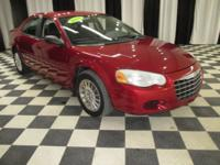 OVERVIEW This 2004 Chrysler Sebring 4dr LX features a