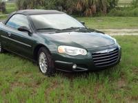 Selling my 2004 Chrysler Sebring LXI. Car is in perfect