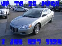 Options Included: N/ALocal trade in!! 26 MPG!! Low