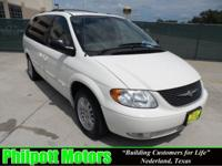 Options Included: N/A2004 Chrysler Town Country, white