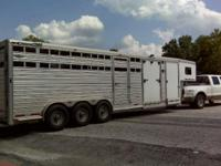 2004 Cimmarron, aluminum, 28 X 7 6, Loonestar, 3 horse,