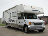 This nice 2004 COACHMEN LEPRECHAUN RV has been very