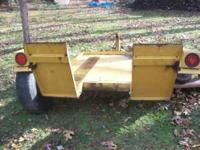selling my heavyduty trailer as is used for heavyduty