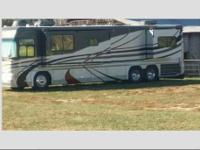 This breath-taking, modern Coach 500 Cat Diesel Pusher,