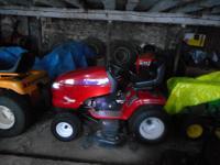 2004 craftsman deluxe grand tractor 6000 27hp Kohler -