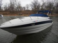 2004 Crownline 270Powered by a Merc 496 MAG MPI Braavo