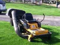 2004 Cub Cadet Zero Turn Riding Lawn Mower great shape,