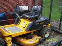 2004 cub cadet Zero Turn mower rtz 17 (lock haven )
