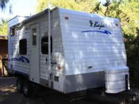 2004 Curtis Industries Baja. Mainly White exterior the