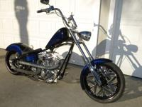 This all custom built 2004 Softail Chopper represents