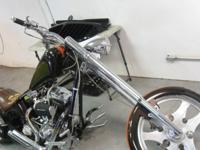 This Collector Chopper Bike was ridden 4 times and kept