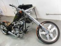2004 Dragon Super Sport Chopper with only 200 Miles and
