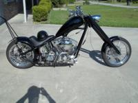 Custom built Chopper titled 2004 because of frame.